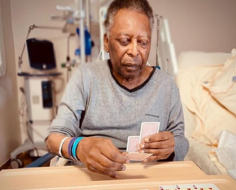 Pelé se recupera após uma cirurgia para retirar um tumor no cólon | Foto: Reprodução | Instagram - Foto: Reprodução | Instagram