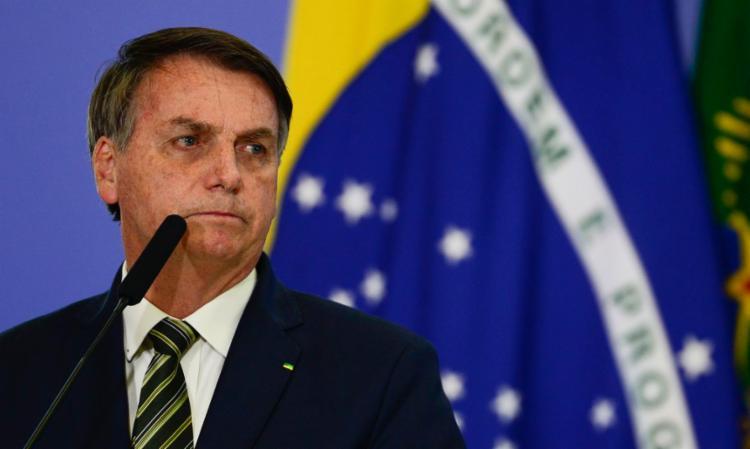 Bolsonaro atinge a pior popularidade de seu governo   Foto: Agência Brasil/Divulgação - Foto: Agência Brasil/Divulgação