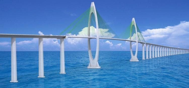 Projeto da ponte Salvador-Itaparica | Foto: Divulgação - Foto: Divulgação
