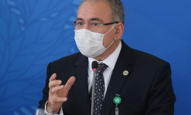 Ministro da Saúde acompanha Bolsonaro para 76ª Assembleia-Geral da ONU | Foto: Fabio Rodrigues Pozzebom I Agência Brasil - Foto: Fabio Rodrigues Pozzebom I Agência Brasil