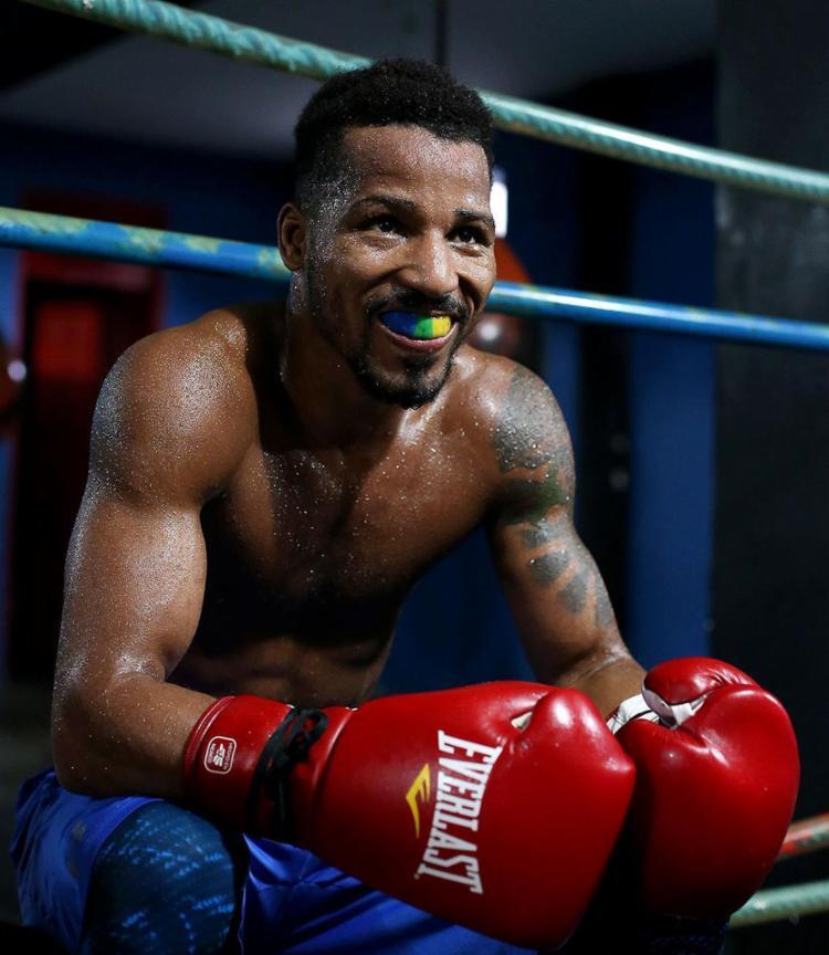 Robson Conceição, boxeador baiano   Foto: Adilton Venegeroles   Ag. A TARDE - Foto: Adilton Venegeroles   Ag. A TARDE
