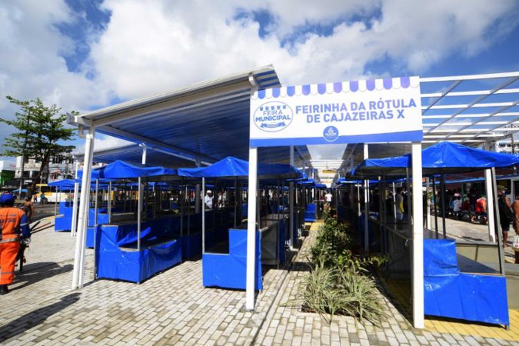 Estão instaladas 128 barracas | Foto: Divulgação/Betto Jr. - Foto: Divulgação/Betto Jr.