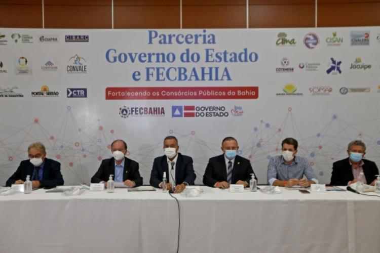 Rui ressaltou que os consórcios têm obtido êxito na Bahia na área de saúde com a implantação das policlínicas | Foto: Divulgação - Foto: Divulgação