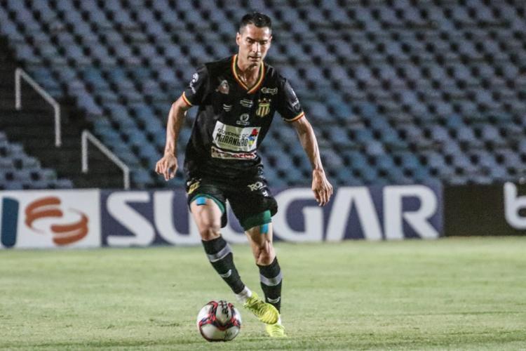 O time do Maranhão não vence há quatro rodadas e estacionou nos 36 pontos, no 7º lugar   Foto: Ronald Felipe   Sampaio Corrêa - Foto: Ronald Felipe   Sampaio Corrêa