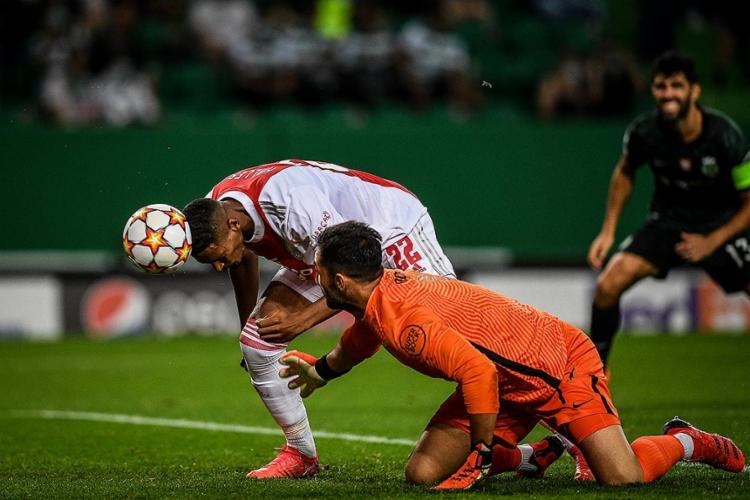 O atacante Sébastien Haller brilhou e marcou quatro gols   Foto: Patricia de Melo Moreira   AFP - Foto: Patricia de Melo Moreira   AFP