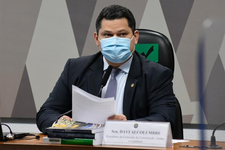 Responsável pela sabatina, Alcolumbre resiste ao nome de Mendonça ao STF   Foto: Roque de Sá   Agência Senado - Foto: Roque de Sá   Agência Senado
