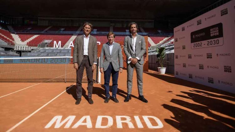 O próximo Torneio de Madri será realizado de 26 de abril a 8 de maio. | Foto: Reprodução | ATP - Foto: Reprodução | ATP