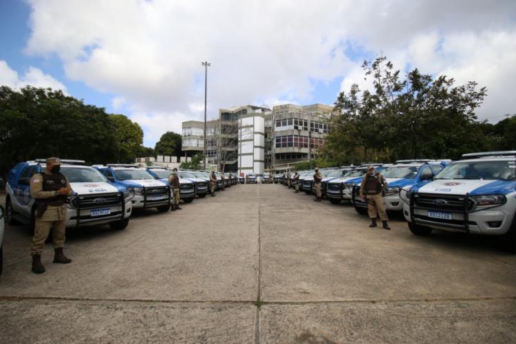 Veículos serão destinados a diversos municípios do estado | Foto: Alberto Maraux/ SSP - Foto: Alberto Maraux/ SSP