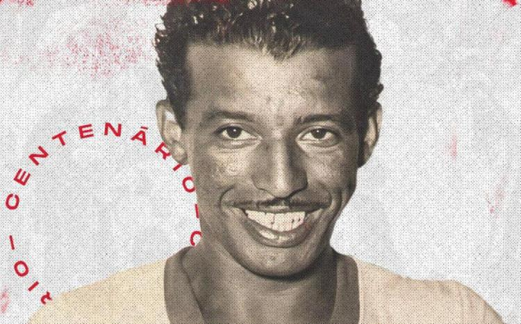 Craque, destaque da Copa de 1950, inspirou Pelé | Foto: Reprodução | Twitter | @Banguoficial - Foto: Reprodução | Twitter | @Banguoficial