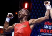 Baiano Keno Machado brilha na estreia pelo Mundial de boxe | Foto: Divulgação | AIBA