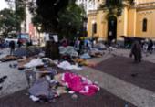 Defensoria debate população nas ruas | Foto: AFP|