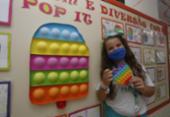Uso de jogos digitais e brinquedo da moda auxilia na aprendizagem | Foto: Foto: Olga Leiria / Ag. A Tarde