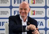 Presidente da Fifa diz que Copa a cada dois anos fará o