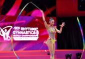 Bárbara Domingos se classifica à final do Mundial de Ginástica Rítmica | Foto: