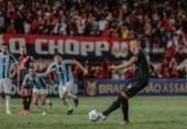 Grêmio é derrotado pelo Atlético-GO e se complica no Z-4 do Brasileirão | Foto: Bruno Corsino | ACG