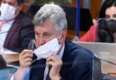 Renan anuncia que vai pedir indiciamento de Heinze | Foto: Edilson Rodrigues | Agência Senado