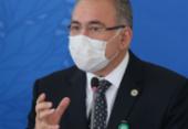 Queiroga é alvo de protestos em Portugal durante palestra sobre pandemia no Brasil | Foto: Fábio Rodrigues Pozzebom I Agência Brasil