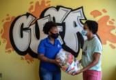 Corrente do bem garante comida na crise da pandemia | Foto: Uendel Galter/ Ag A Tarde