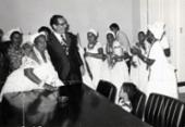 Reportagens mostram como são recentes as ações respeitosas do estado em direção ao candomblé | Foto: Nelson Martins | Cedoc A TARDE | 15.01.1976
