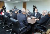 Senadores entregam relatório final da CPI a Aras e Moraes | Foto: Ag. Senado