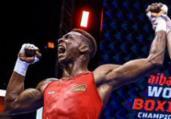 Baiano Keno Marley vence na estreia do Mundial de Boxe | Divulgação | AIBA