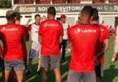 Manoel vira dúvida no Vitória contra o Brasil-RS   Divulgação   EC Vitória