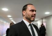 Filho de Bolsonaro acusa Aziz de prevaricação | Reprodução I Twitter
