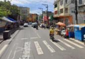 Idoso morre após ser atropelado na Liberdade   Reprodução   Google Street View