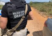 Suspeitos de tráfico internacional morrem em tiroteio   Divulgação/ Polícia Civil