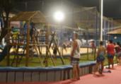 Mata Escura ganha praça com parque infantil e academia | Betto Jr | Secom-PMS
