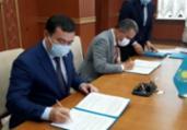 Rui Costa assina acordo comercial no Cazaquistão   ASCOM/GOVBA