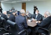 CPI entrega relatório final a Aras e Moraes   Ag. Senado