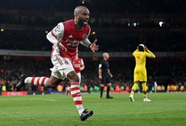 Arsenal empata com Crystal Palace com gol de Lacazette no fim da partida |