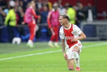 Antony marca, e Ajax atropela o Borussia Dortmund na Liga dos Campeões | AFP
