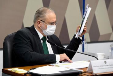 'Serão tomadas todas as providências', diz Aras sobre relatório da CPI da Covid | Jefferson Rudy | Agência Senado