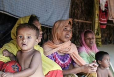 Ataque a acampamento de refugiados de Bangladesh deixa sete mortos | Anthony Burke | AFP