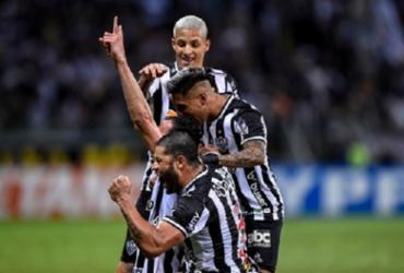 Atlético-MG goleia o Fortaleza e encaminha vaga na decisão da Copa do Brasil | Reprodução | Twitter