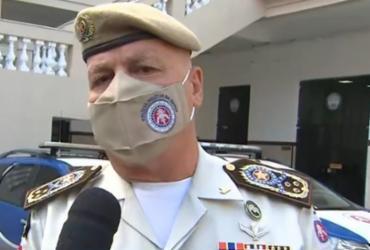 'Vamos atuar em qualquer lugar', diz comandante da Polícia Militar | Reprodução | TV Bahia