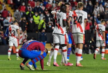 Barcelona é derrotado pelo Rayo Vallecano no Espanhol |