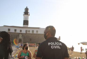 Polícia intensifica ações na região da Barra | Equipes atuaram nos principais pontos | Foto: Haeckel Dias | Ascom-PC