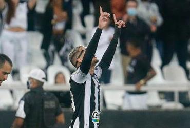 Com dois de Navarro, Botafogo derrota Brusque na Série B | Vitor Silva | Botafogo