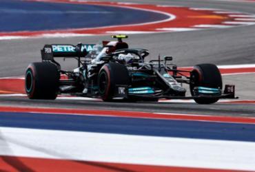 Bottas domina primeira sessão de treinos do GP dos EUA de F1, mas é punido | AFP
