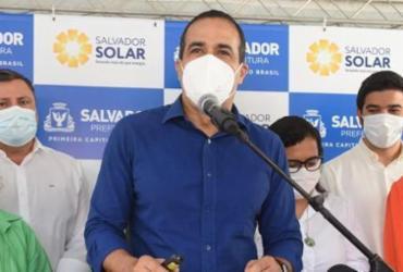 Prefeito lança programa Salvador Solar com foco na economia e meio ambiente | Foto: Betto Jr./Secom