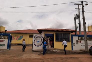 Capela do Alto Alegre: governador em exercício autoriza obra de modernização de escola e entrega base da PM