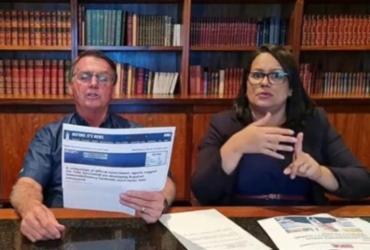 CPI pede quebra de sigilo e suspensão de contas de Bolsonaro após live polêmica | Reprodução