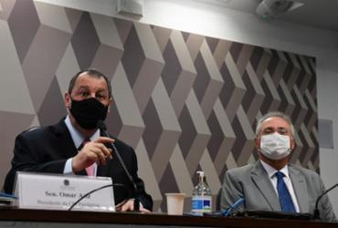 Cúpula da CPI da Covid escancara racha interno em declarações na imprensa | Edilson Rodrigues | Agência Senado | 15.10.2021