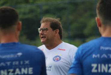 Guto comanda coletivo e treino de bolas paradas na Cidade Tricolor | Felipe Oliveira | EC Bahia