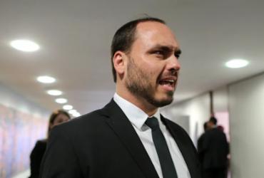 Filho de Bolsonaro acusa presidente da CPI de crime de prevaricação | Reprodução I Twitter
