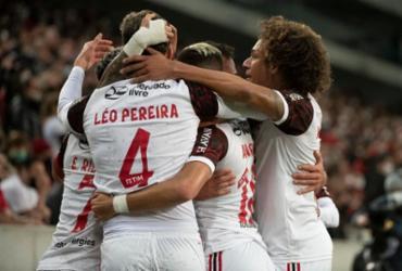 Pedro marca no último lance e Flamengo busca empate contra o Athletico-PR | Alexandre Vidal | CR Flamengo