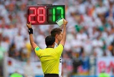 Competições de futebol poderão manter cinco substituições   Reprodução
